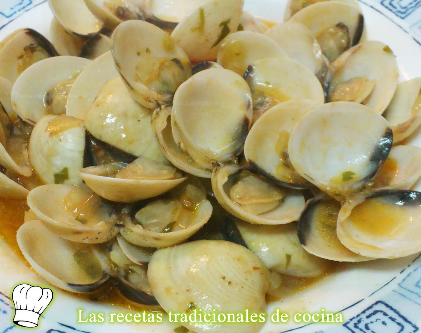Receta De Almejas Con Salsa Marinera Recetas De Cocina