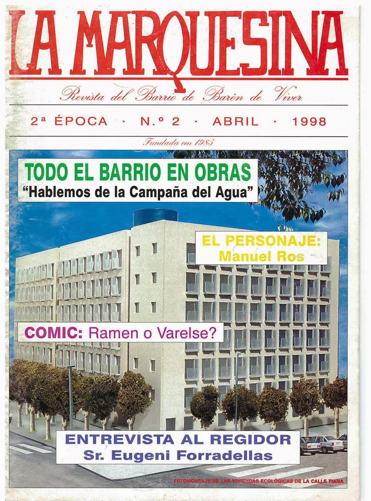 2° EPOCA - N° 2 - ABRIL 1998 - PORTADA