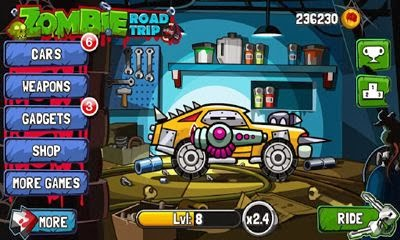 Zombie Road Trip v3.7 Android Hile Mod APK indir