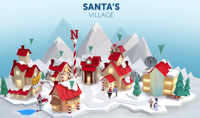 Santa's Village on NORAD Tracks Santa
