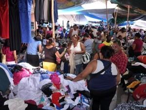 Vendedores de ropa de paca dispuestos a marchar al Palacio