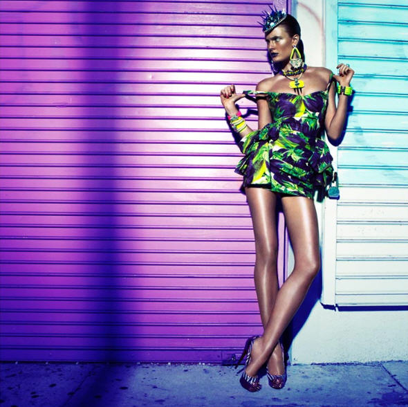 Colorful High Fashion Photography The Colorful High Fashion