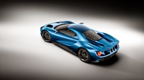 New Ford GT is the Best Production Vehicle at 2015 NAIAS