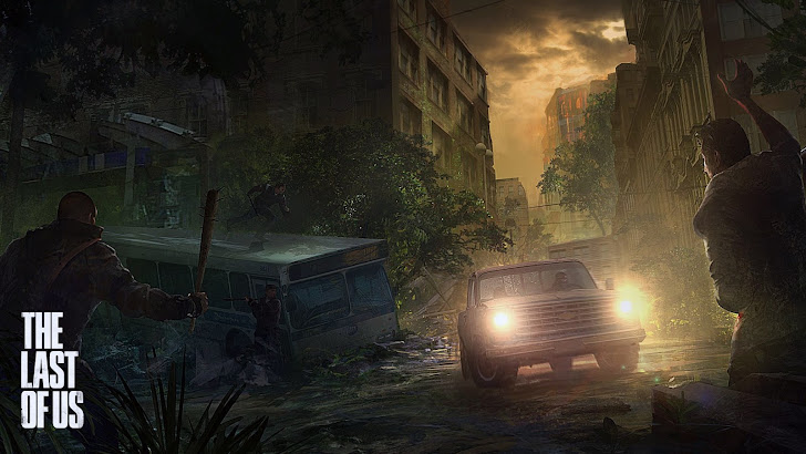 The Last of Us Art Ambush