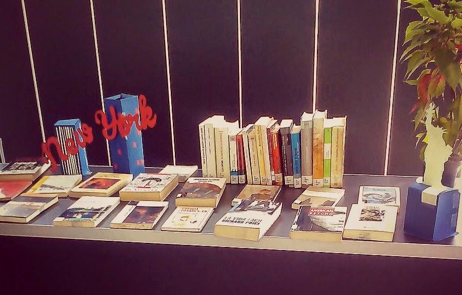 Exposición bibliográfica sobre Nueva York en la biblioteca municipal de Leioa