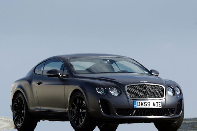 2010 Bentley Continental Supersports Front Exterior