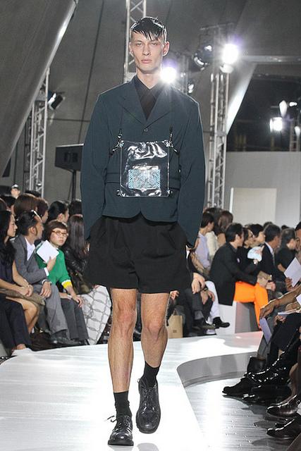 Tokyo Fashion Week SS 2012: Dmitriy Dionesov, Ksenia Senko and Vasilisa Pavlova in a Jil Sander show