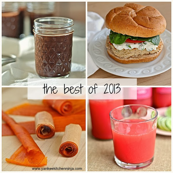 Yankee Kitchen Ninja most popular recipes of 2013