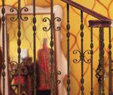 wrought iron stairway railings