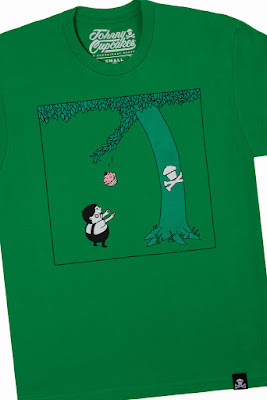 "The Giving Tree ""The Baking Tree"" T-Shirt by Johnny Cupcakes"