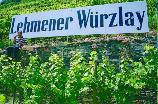Helga und Peter J. König im Gespräch mit Uwe Weber/Terrassen-Bio-Weingut Weber