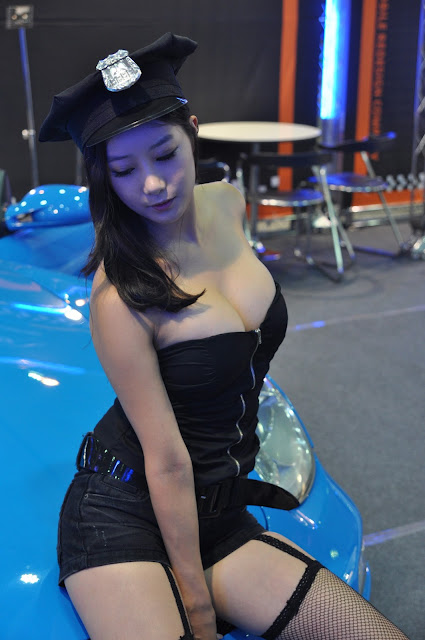 3 Seoul Auto Salon 2012-Very cute asian girl - girlcute4u.blogspot.com