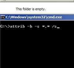 perintah memunculkan file terhidden di command prompt