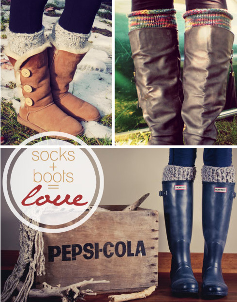 Knee-High Socks and Boots 2013