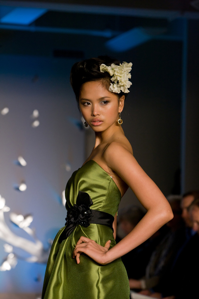 Fall 2011 Bridesmaids Collection in the runways of NYC Bridal Market