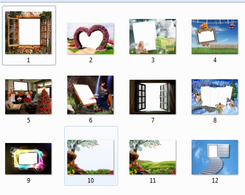 13 Latest Stylish PNG frames Free Download For Photoshope & Video ...