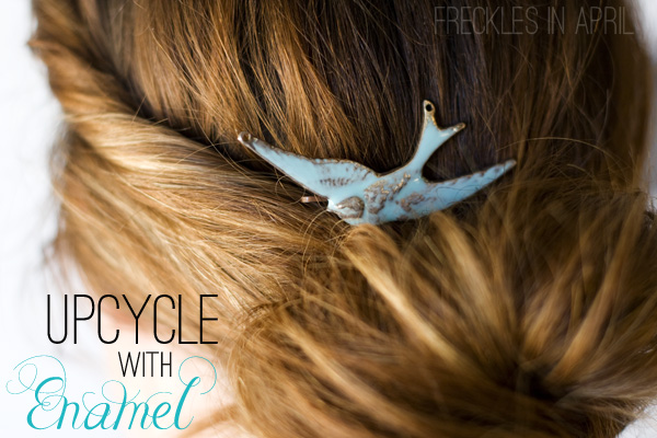 Upcycling Old Jewelry with Enamel