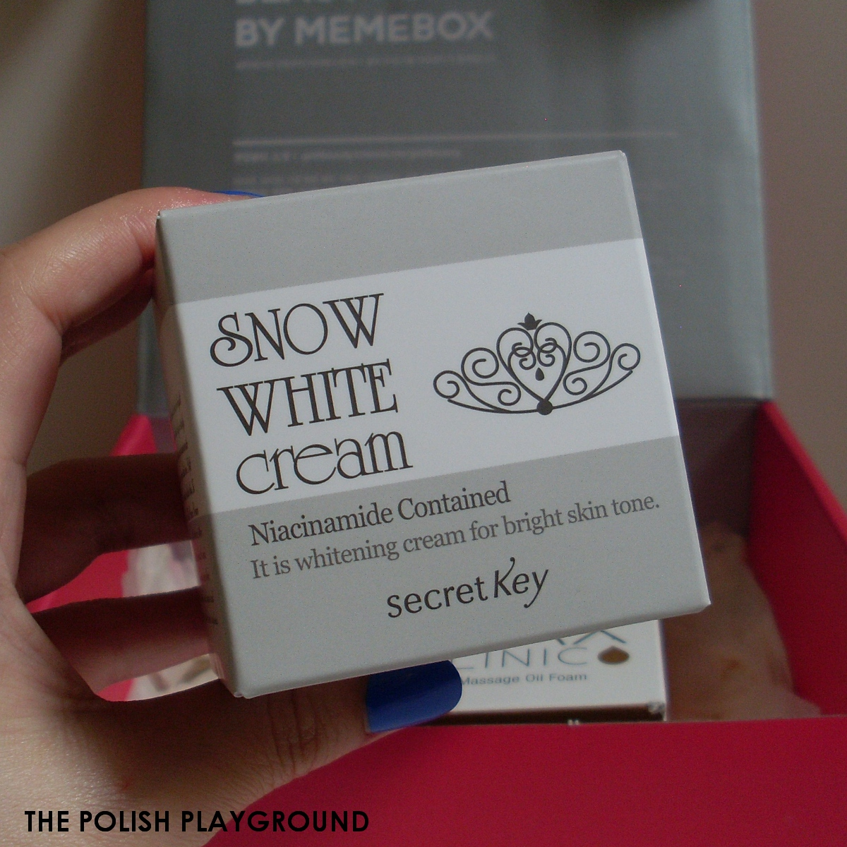 Memebox #8 Unboxing - Secret Key Snow White Cream