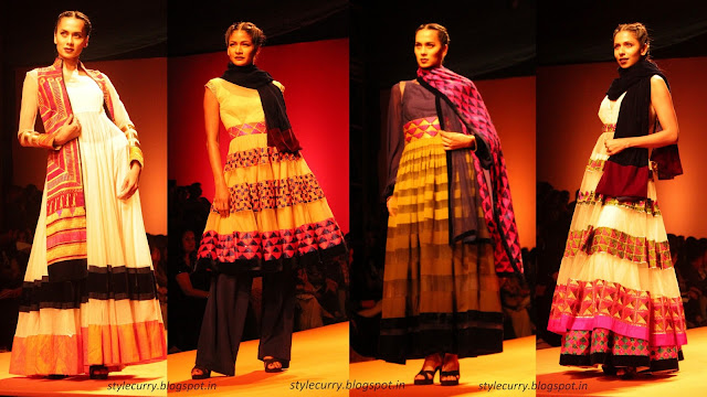 Manish Malhotra Lehengas and suits at Wills Lifestyle India Fashion Week Autumn Winter '13