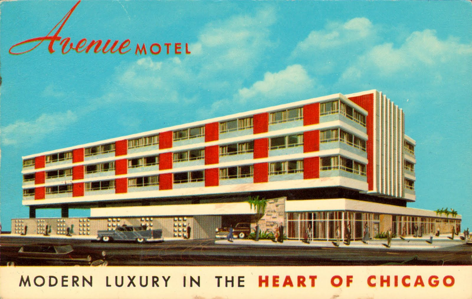 Neat stuff blog mid century buildings for Motels in chicago