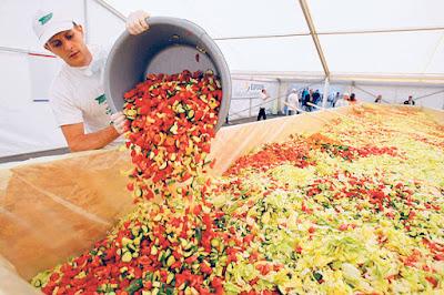 salad terbesar di dunia
