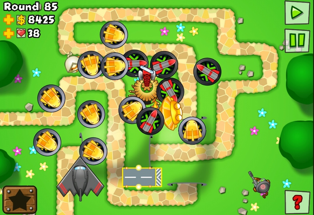 Solved: Bloons Tower Defense 5: Monkey Lane Hard Walkthrough