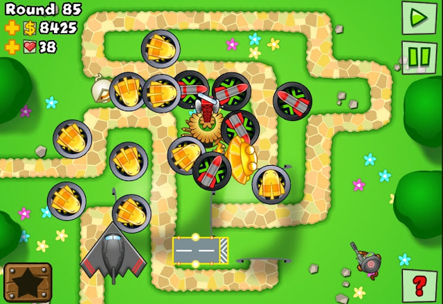 monkey balloon tower defense 2