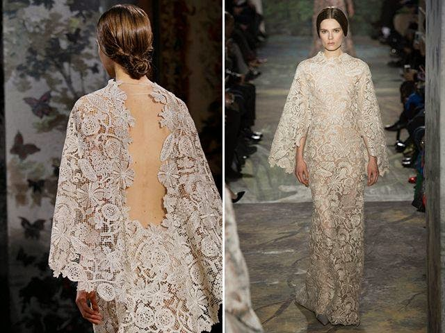 Ladiesfashionsense- Valentino Lace Wedding Gown