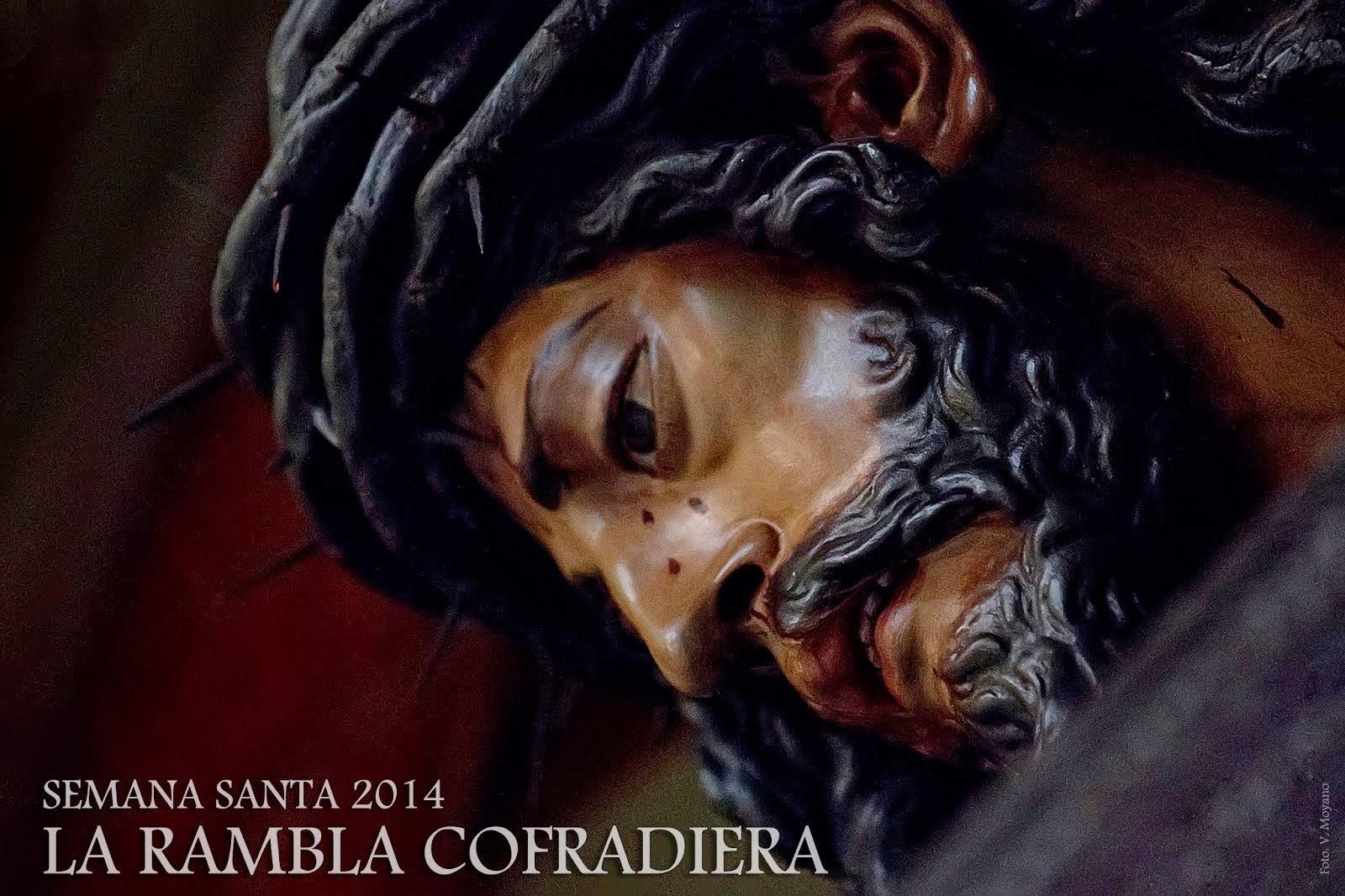 I Cartel anunciador de Semana Santa de La Rambla Cofadiera 2014