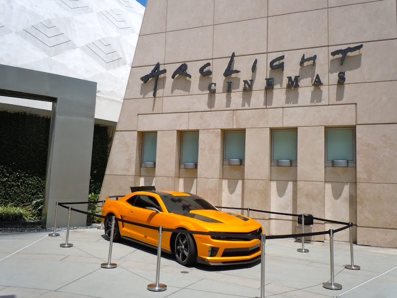 Transformers 3 Bumblebee Camaro ArcLight Hollywood