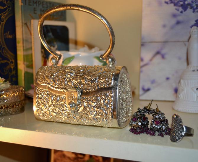 accessori indiani argento