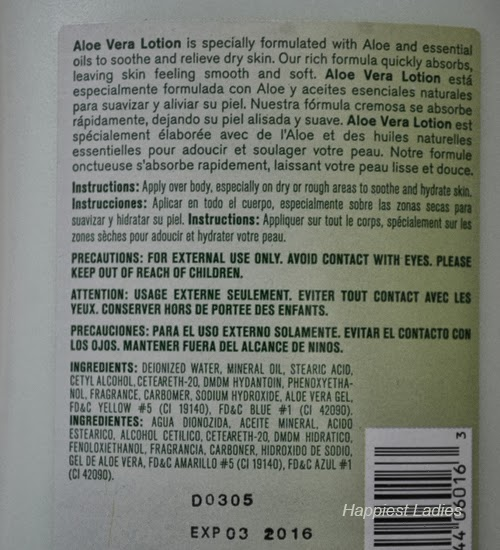Intimate-Aloe-Vera-Dry-Skin-Lotion-ingredients-+-Body-lotions-and-creams