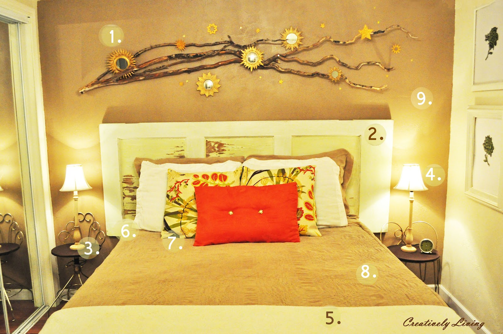 inexpensive tips on bedroom focal walls creatively living blog inexpensive tips on bedroom focal walls