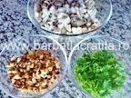 Salata de ciuperci cu nuca preparare reteta