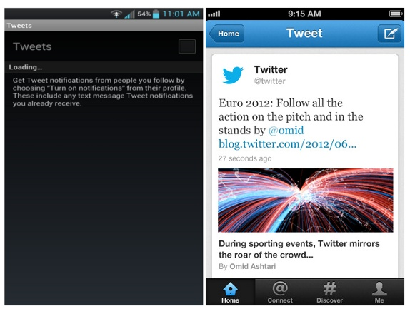 Twitter For Android And iPhone Updated with Expanded Tweets, Push Notifications