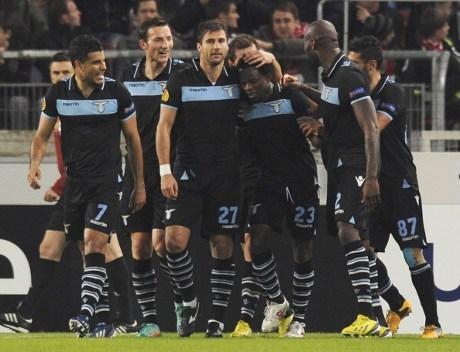 Lazio VS Stuttgart Babak 16 Besar Europa League 2013
