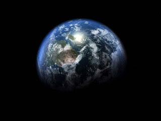 planeta tierra foto del espacio
