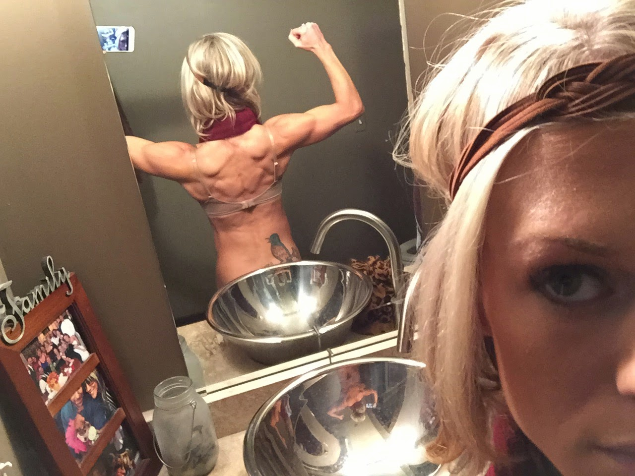 Progress picture of back