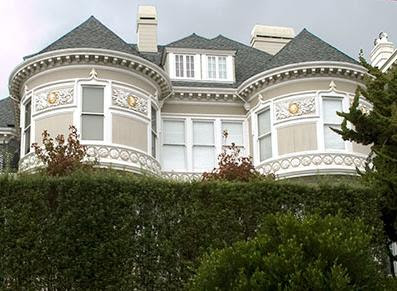 The Chambers Mansion (The Mansions Hotel) in San Francisco is said to be haunted by the spirit of Claudia Chambers who died in the home in the years before it was a hotel.  Photo credit: http://www.noehill.com/sf/landmarks/sf119.asp