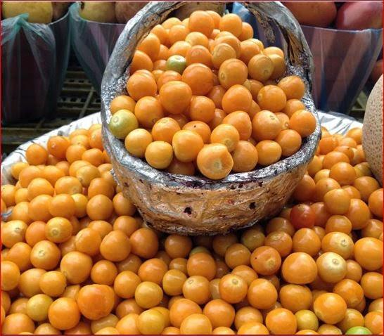 frutas extranas