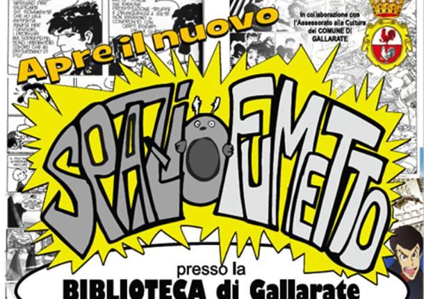 "Spazio Fumetto Biblioteca Civica ""Luigi Maino"""
