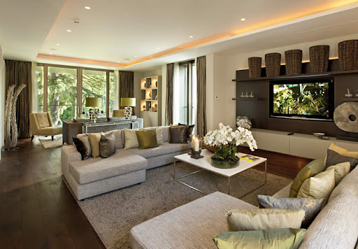 Living Room Design Luxury