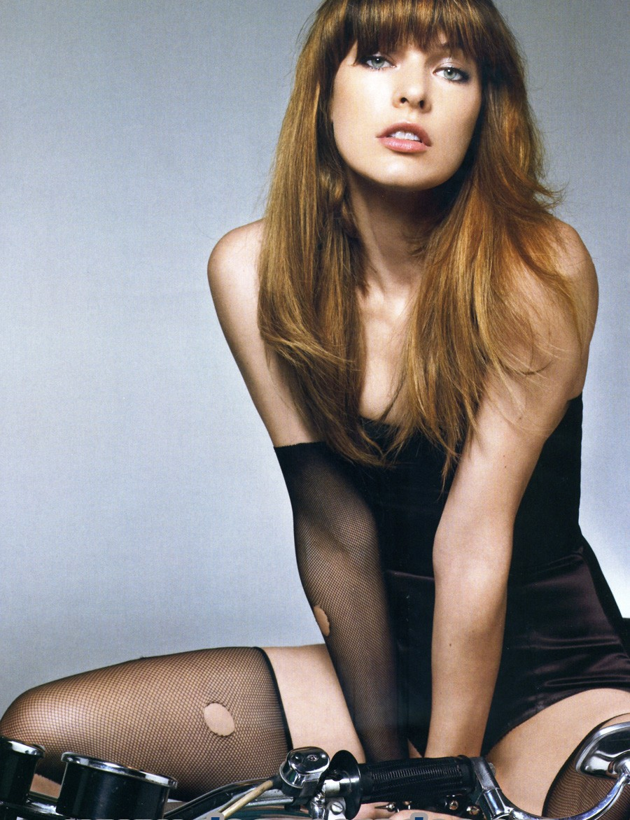 Good Photos: Milla Jov... Milla Jovovich