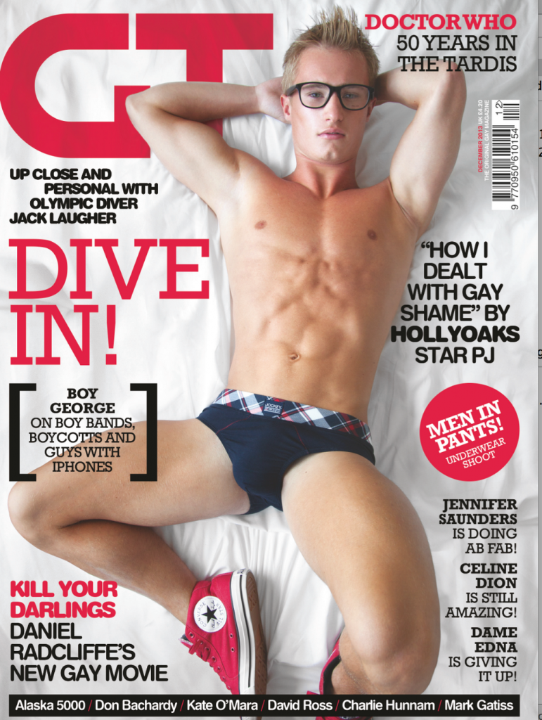 "Welcome to my world.... : UK Diver Jack Laugher Poses For ""G"