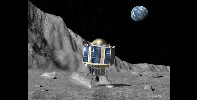 Japanese Smart Lander for Investigating Moon. Credit: JAXA