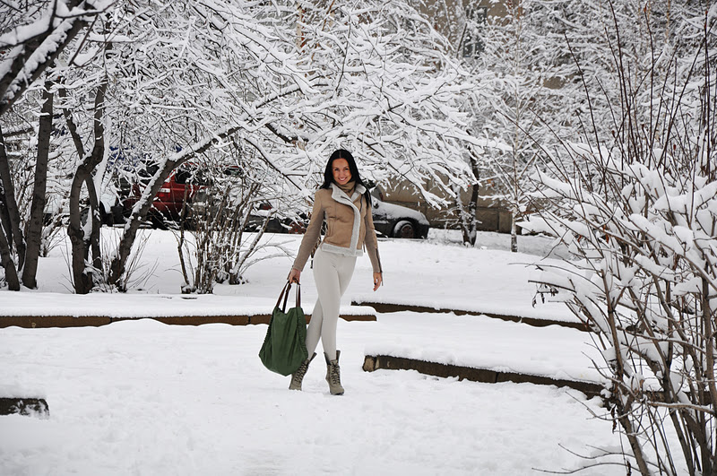 Для меня первый снег это всегда