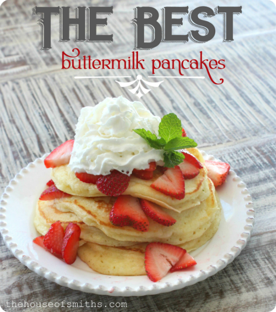 Best Buttermilk Pancakes Recipe — Dishmaps