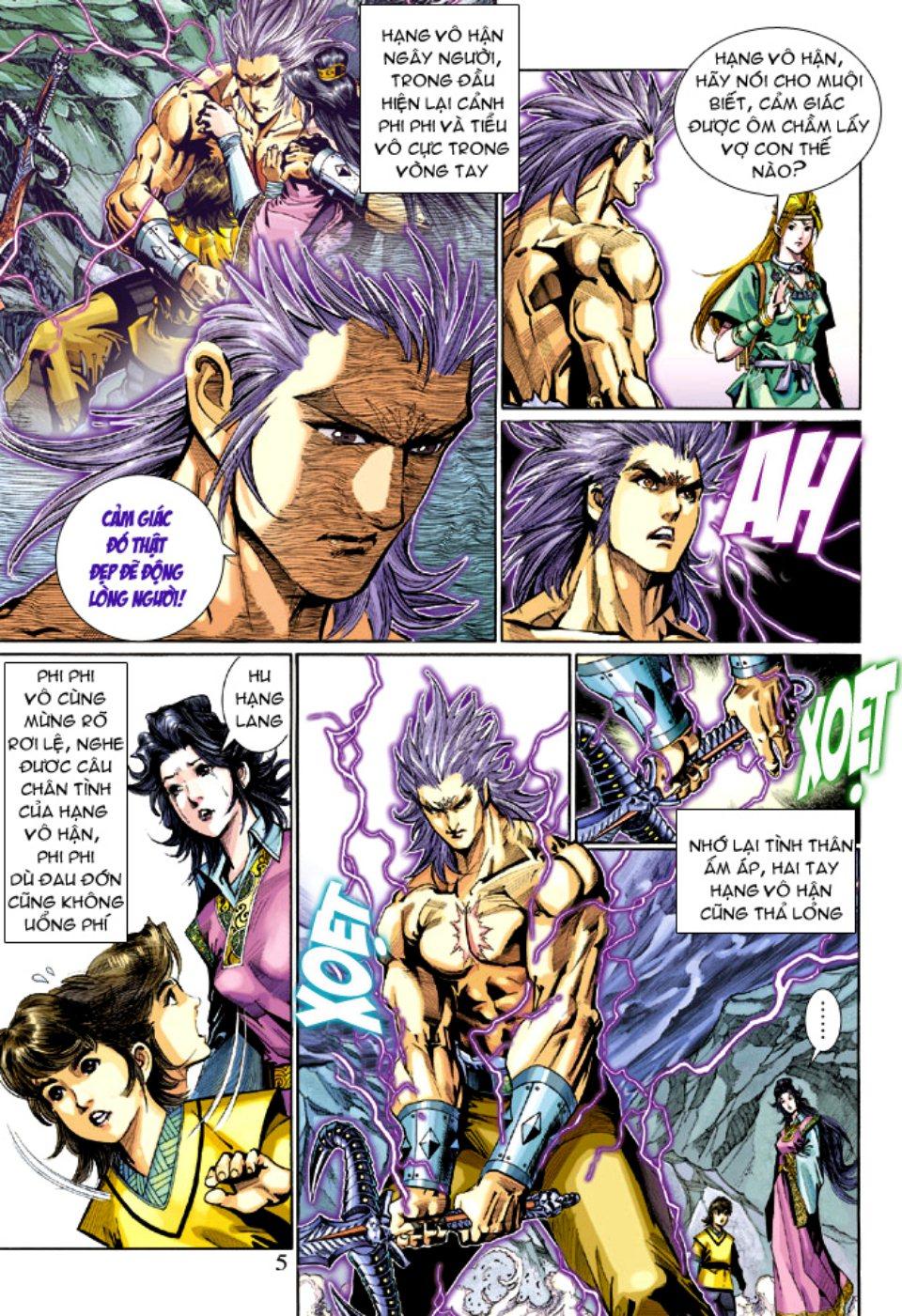 Thiên Tử Truyền Kỳ 5 - Như Lai Thần Chưởng chap 212 - Trang 5