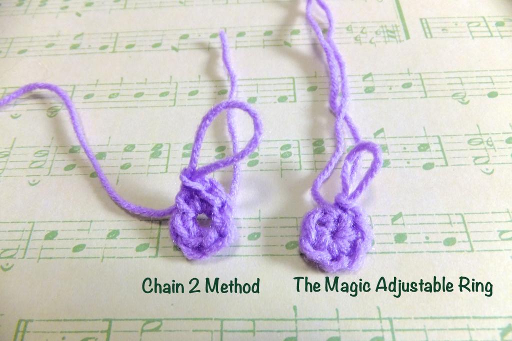 Amigurumi Adjustable Ring : Happiness is Scrappy: Lets Crochet: Magic Adjustable Ring ...
