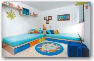 El rinc n de los peques habitaciones juveniles - Camas para dos hermanos ...